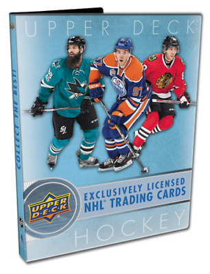 2017-18 UPPER DECK SERIES 1 HOCKEY STARTER KIT BINDER Boeser McAvoy Young Guns?