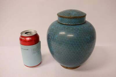 Chinese 19th/20th century cloisonne jar