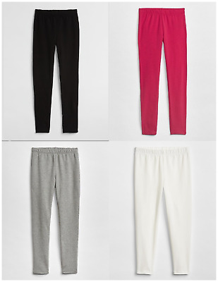 New Gap Girls Terry Solid Color Leggings Choose Size and Color MSRP $16.95