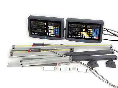 2/3 Axis Digital Readout Linear Glass Scale TTL DRO Display Kit Milling Lathe