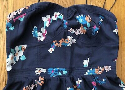 American Eagle Aerie Size 8 New Without Tags Floral Romper Smock Christmas Gift