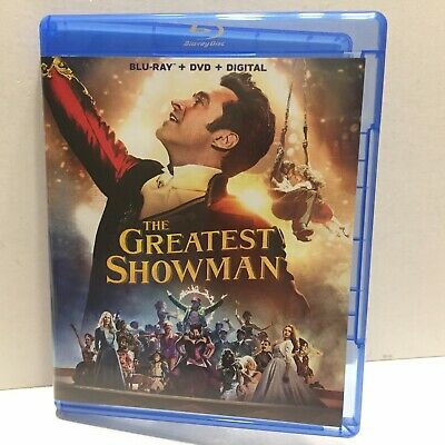 The Greatest Showman Movie Blu-Ray Disc Only (No DVD No Digital)
