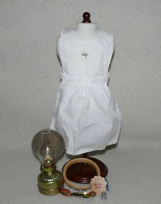 American Girl PC Addy's Needlework & Lamp Set!  Complete!