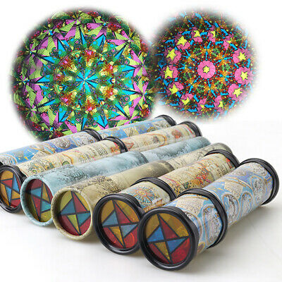 Rotatable Kaleidoscope Kids Children Educational Learning Science Toy Gift USA