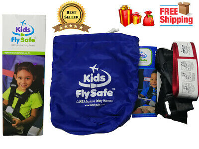 CARES Child Airplane Travel Harness-Cares Safety Restraint System - Brand New
