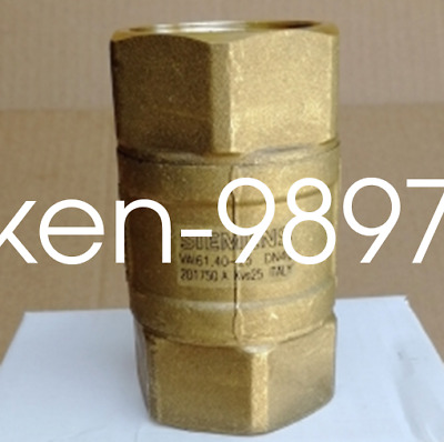 1PC New SIEMENS VAI61.40-25 Threaded Water Pipe Valve