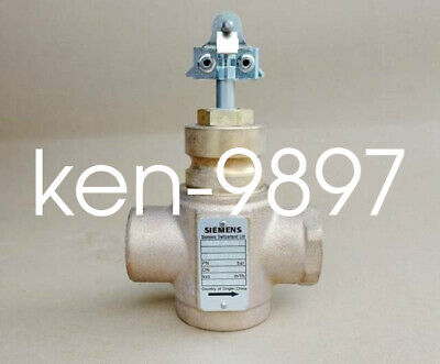 1PC NEW SIEMENS Control Valve threaded 2-Port PN16 VVI47.25-10 DN25