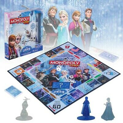 Monopoly Frozen II Board Game-Family Fun Christmas Gift Party Birthday Group
