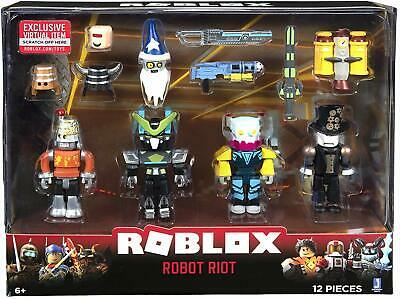 Roblox Robot Riot Mix and Match Action Figure Pack *BRAND NEW*