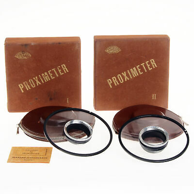 Herman Schneider Proximeter I and II - In Original Packaging With Instructions