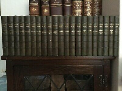 1895 The Works of George Eliot-Standard Edition-Complete in 21 Volumes