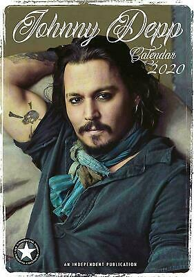 JOHNNY DEPP 2020 calendar by Dream. New and Sealed.