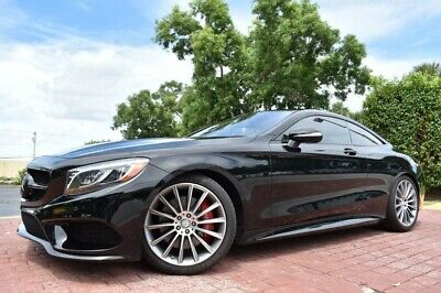 """2016 Mercedes-Benz S-Class S550 COUPE 4MATIC 20"""" AMG WHEELS DIAMOND STITC 2016 Mercedes-Benz S-Class S550 COUPE 4MATIC 20"""" AMG WHEELS DIAMOND STITCH"""
