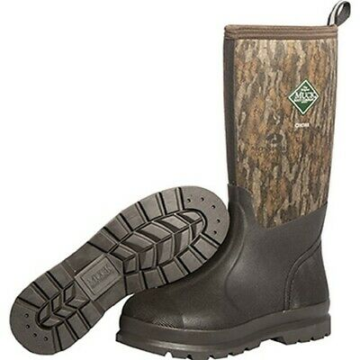Muck CHH-NIB-CAM-100 Chore Classic Mens Size 10 Bottomland Camo Hunting Boots