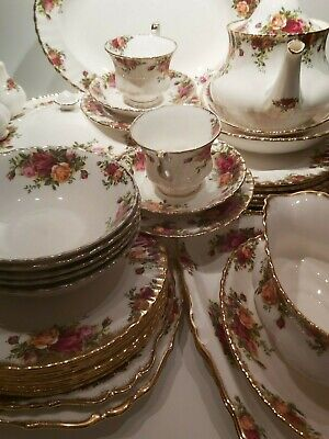 Royal Albert Old Country Roses Tea and Dinnerware - Made in England