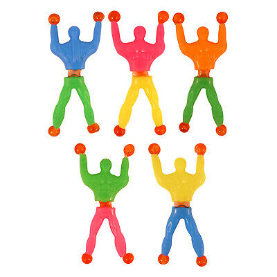 Sticky Men Wall Walkers Climbing Tumbler Kids Birthday Toy Favors Party UK Stock