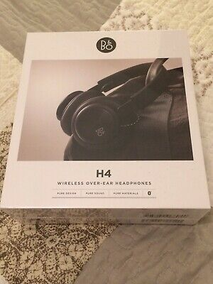 Bang and Olufsen H4 Over Ear Wireless Bluetooth Headphones Black