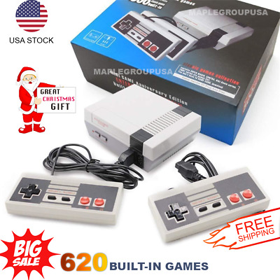 620 Games Built-in Entertainment Mini Classic Game Console - Christmas Gift