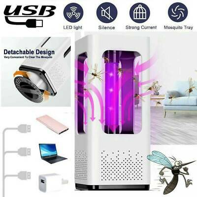 Electric UV Light Mosquito Killer USB Insect Bug Pest Zapper Catcher Trap Lamp