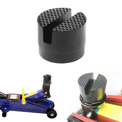 Universal Car Parts Rubber Support Pad Car Slotted Frame Rail Floor Jack Adapter