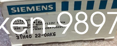 1PC New Siemens contactor 3TH4022-0AK6