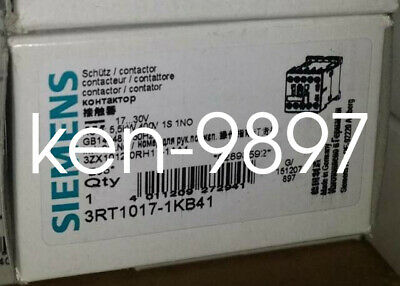 1PC New Siemens Contactor 3RT1017-1KB42 DC24V 5.5KW/12A