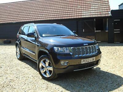 2012 Jeep Grand Cherokee 3.0 CRD V6 Overland Summit 4x4 5dr