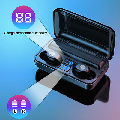 Automatic Pairing TWS Wireless Bluetooth Touch Control Noise Reduction Earphones