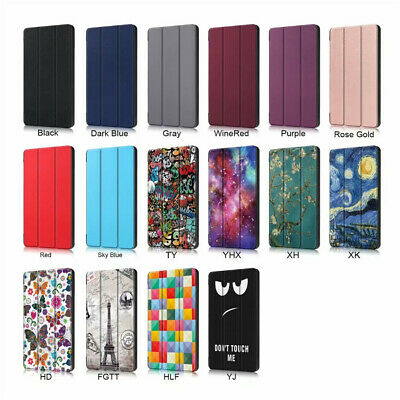 Case For Amazon Kindle Fire 7 2019 9th Generation Slim Magnetic Flip Stand Cover