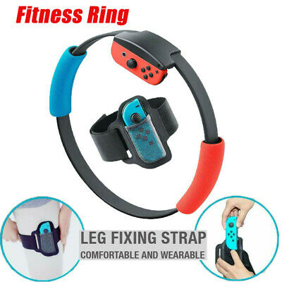 For Nintendo Switch Ring Fit Adventure Fitness Ring Healthy Exercise Leg Strap z
