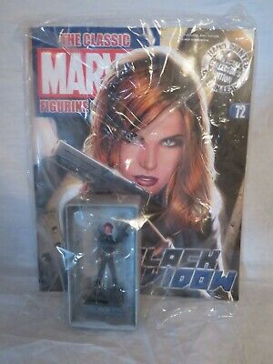 Classic Marvel Figurine Collection - Black Widow (Eaglemoss #72)