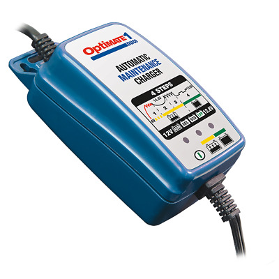 OptiMATE 1 DUO 4-step 12V/12.8V 0.6A Battery charger Lead, acid, gel, wet cell