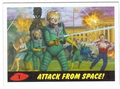 2013 Topps Mars Attacks! Invasion Completo 58-Card Heritage Juego