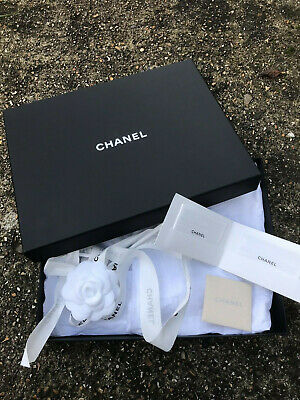 Chanel Empty Box for scarf  size H4/L29/D22cm