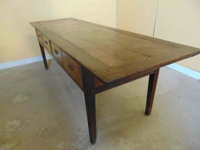 Stunning 18th Century country side or serving  table C1790 (HS150)