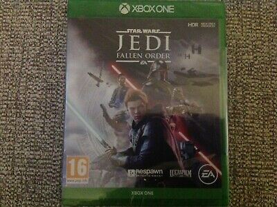 Xbox One Star Wars Jedi Fallen Order Game brand new and sealed