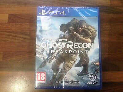 PS4 Tom Clancys Ghost Recon Breakpoint brand new and sealed