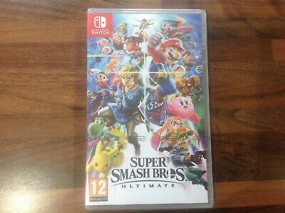 Nintendo Switch Super Smash Bros Ultimate Game brand new and sealed