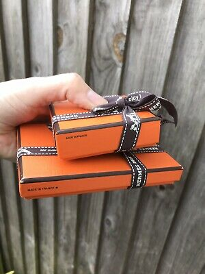 Set of 2 Hermes Empty Boxes for a small goods