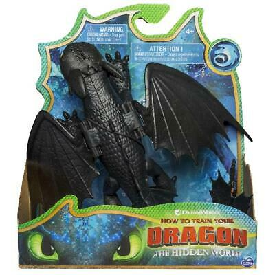Dreamworks Dragons, Toothless Dragon Figure With Moving Parts, For Kids Aged 4 A