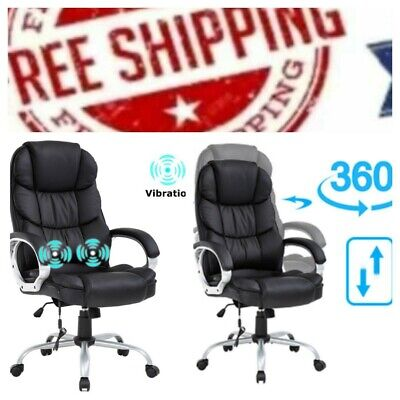 Homall Office Chair High Back Computer Chair Ergonomic Desk Chair, PU Leather