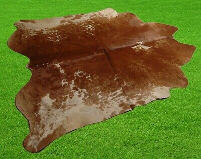 """New Cowhide Rugs Area Cow Skin Leather 19.44 sq.feet (56""""x50"""") Cow hide A-4220"""