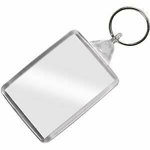 Personalised Custom Photo Gift Keyring - Custom Printed  Both Sides