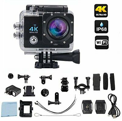 Ace-Cam 4K Ultra HD Upgraded Wifi Sports Action Camera - 16MP 170° Extreme