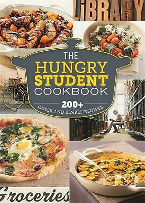 Hungry Student Cookbook: 200+ Quick and Simple Recipes Paperback Book Free Shipp