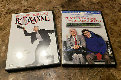 Steve Martin DVD Lot: Planes, Trains and Automobiles + Roxanne