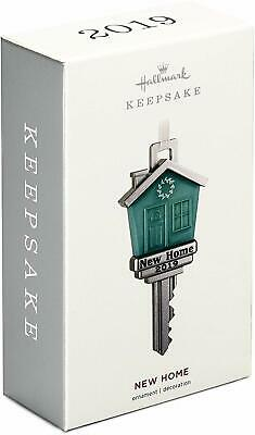 New Home Key Metal 2019 Hallmark Ornament
