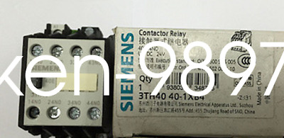 1PC NEW SIEMENS Contactor 3TH4040-1XB4 DC24V