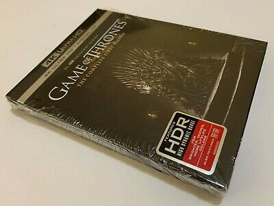 Game of Thrones The Complete First Season 4k Ultra HD + Digital HD *NEW *SEALED