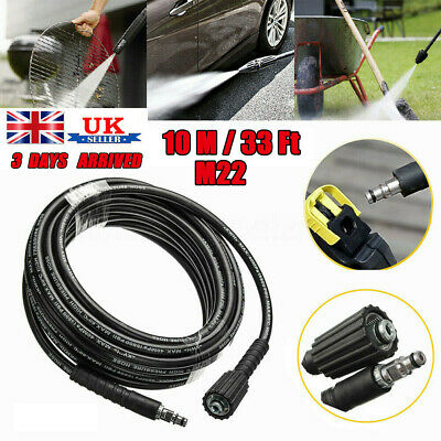 10M High Pressure Washer Hose M22 Jet Water Clean Pipe for Karcher K2 K3 K4 K5 /
